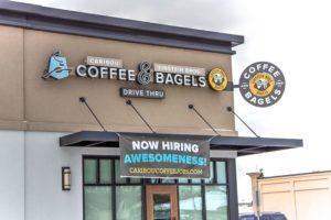 Caribou Coffee & Einstein Bros Bagels